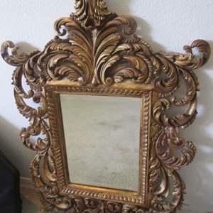 "Lot # 232 - Decorative Mirror, 26"" X 36"""