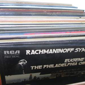 Lot # 256 - Box of Record Albums (About 40+)