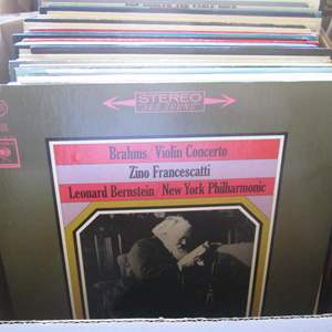Lot # 257 - Box of Record Albums (About 40+)