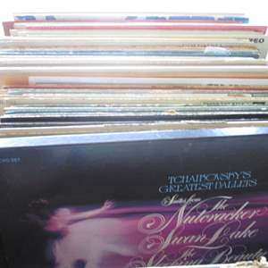 Lot # 258 - Box of Record Albums (About 40+)