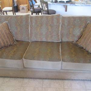 """Lot # 302 - 86"""" Sofa by Marshfield, Comfy & Good Condition!"""
