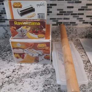 Lot # 296 - Pasta-Making Items, Marcato