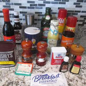 Lot # 297 - Spices & Pantry Items