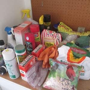 Lot # 24 - Assorted Chemicals & Garden Supplies