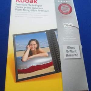 Lot # 49 - Kodak 4 X 6 Photo Paper