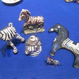 Lot # 93 - Zebra Collectibles, including Fitz & Floyd & France, 1973