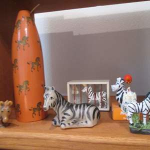 Lot # 102 - The VERY LAST of the Zebra Collection (Almost)