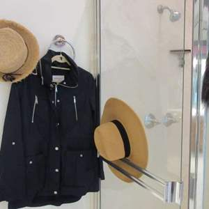 Lot # 160 - Ladies Panama-Style Hats (2) & Jacket (L)