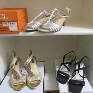 Lot # 162 - 3-Pair Ladies Shoes, Size 9/40