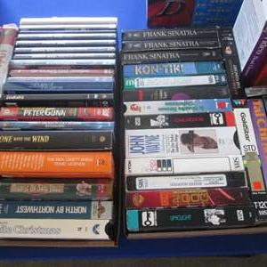 Lot # 253 - 2-Flats of VHS's