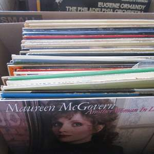 Lot # 255 - Box of Record Albums (About 40+)