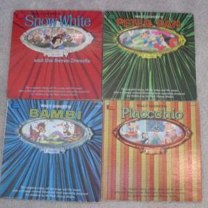 Lot # 269 - 4-Disney Albums & Story Books