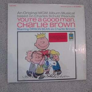 Lot # 270 - Charlie Brown Record Album