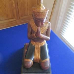 Lot # 271 - Kneeling Statue