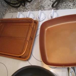 Lot # 294 - Assorted Pots & Pans; Copper & Induction