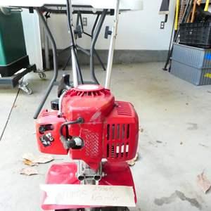 Lot # 201-Mantis gas powered Roto Tiller