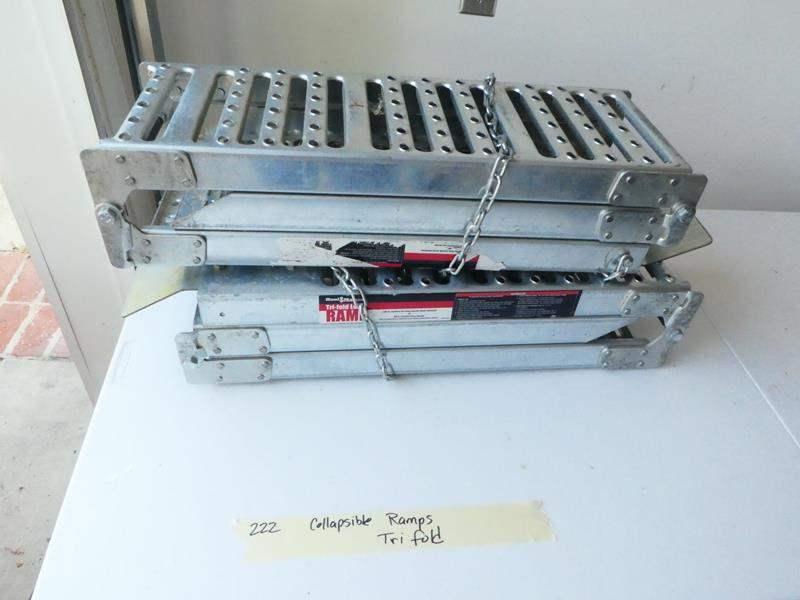 Lot # 222-Tri fold ramps (main image)