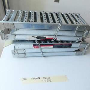 Lot # 222-Tri fold ramps