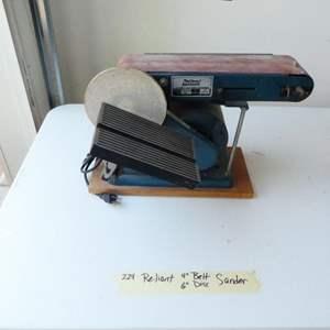 Lot # 224-Reliant belt and disc sander