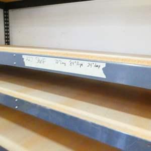 Lot # 227- Sturdy garage shelf (72x84x24)