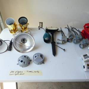 Lot # 240- Wiring and lighting kit, more electrical