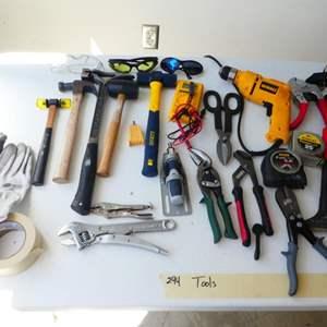 Lot # 244- More amazing tools. DeWalt drill, etc!