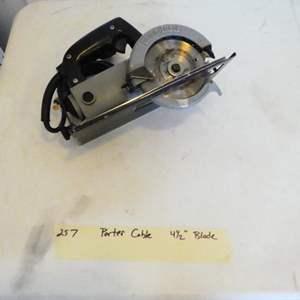 Lot # 257- Porter Cable circular saw.