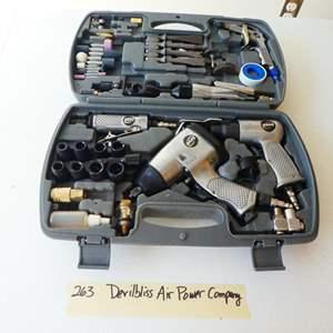 Lot # 263- Pneumatic tool kit. WOW!