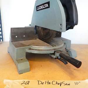 Lot # 269- Delta Chop saw.