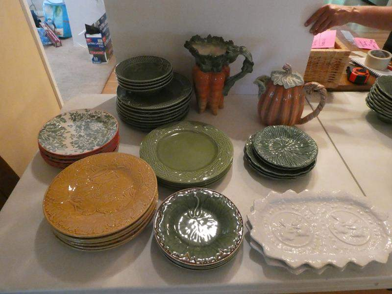Lot # 36- Gorgeous fall dishes and Christmas collection!  (main image)