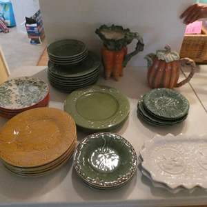 Lot # 36- Gorgeous fall dishes and Christmas collection!
