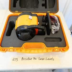 Lot # 273-Acculine Pro Laser Levels