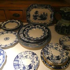 Lot # 38-Blue and white Moselle china! Very classy