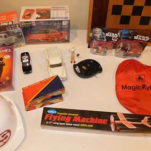 Lot # 387-Collectibles and games!