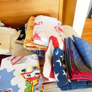Lot # 50- Cloth napkins & table clothes! everything you need