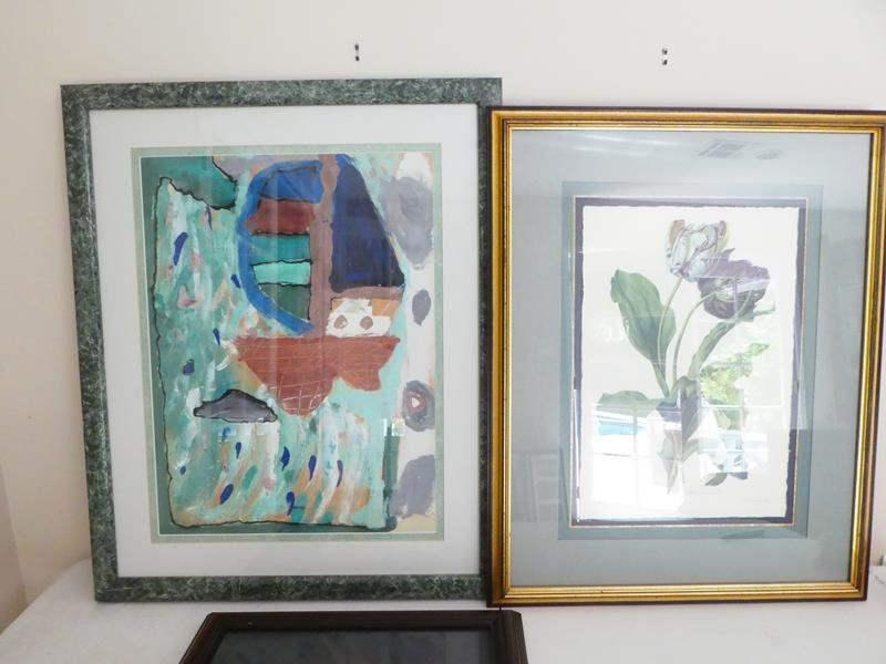 Lot # 53-Beautiful framed artwork (main image)