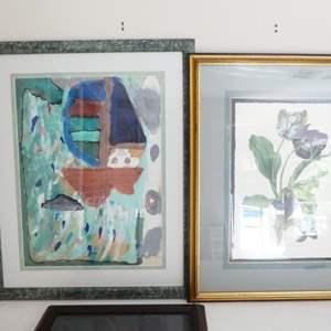 Lot # 53-Beautiful framed artwork