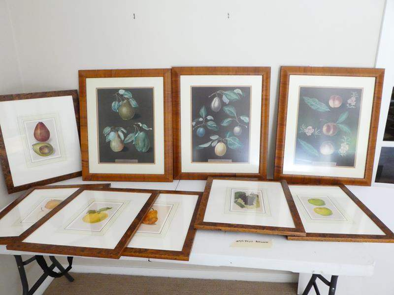 Lot # 54-framed art, fruit pictures, perfect for your kitchen (main image)