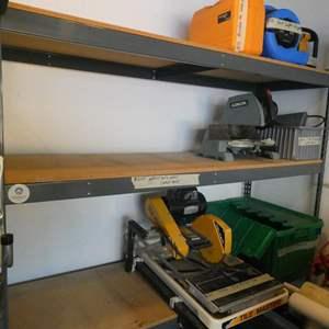 Lot # 277- Heavy duty storage shelf, No content