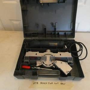 Lot # 278-Bosch! bosch!  BOSCH! Fine cut saw