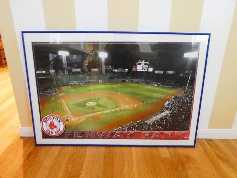 Lot # 56-Fenway Park framed print (main image)