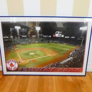 Lot # 56-Fenway Park framed print