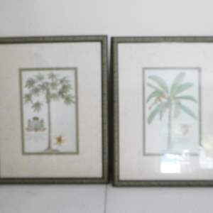 Lot # 57-Palm tree art and more pictures