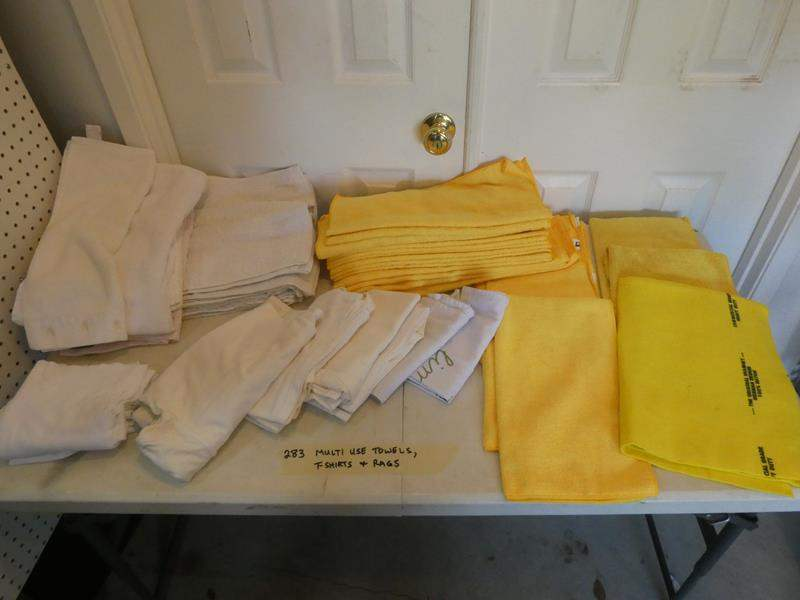 Lot # 283-Microfiber towels and rags (main image)