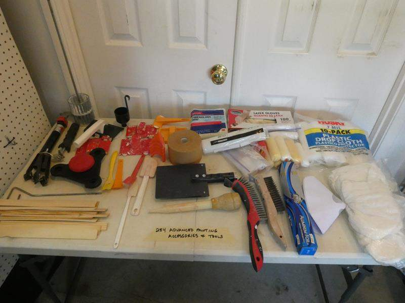 Lot # 284- Advanced painting accessories and tools (main image)