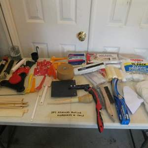 Lot # 284- Advanced painting accessories and tools