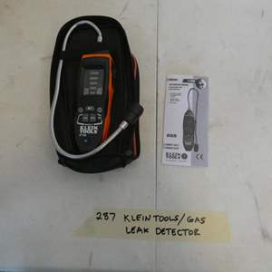 Lot # 287- Klein diagnostic tool and gas leak detector