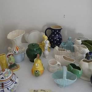 Lot # 62- McCoy and misc. ceramics