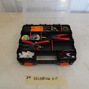 Lot # 291-soldering kit