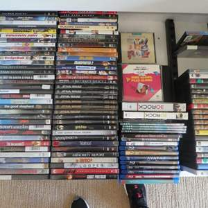Lot # 68-A bunch of DVD's! Always have a movie around on a Friday night!
